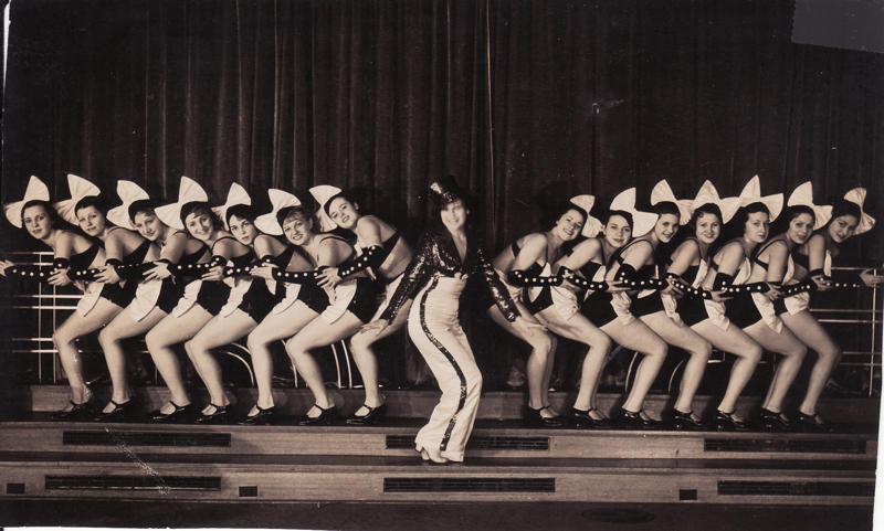 Paramount Peach chorus line 1