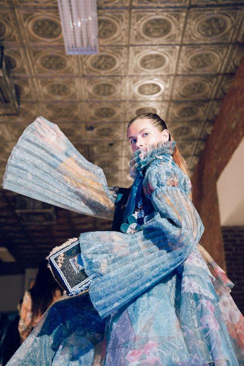 Fashion designs by Carline Zhou of the Sino-UK student project