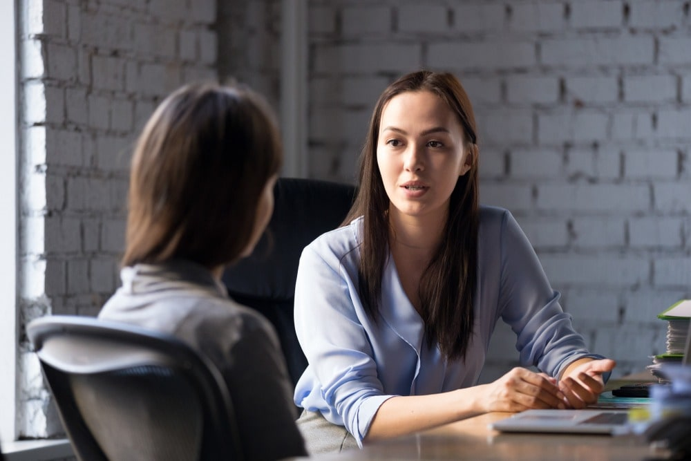 Recruitment, female biz leader interview