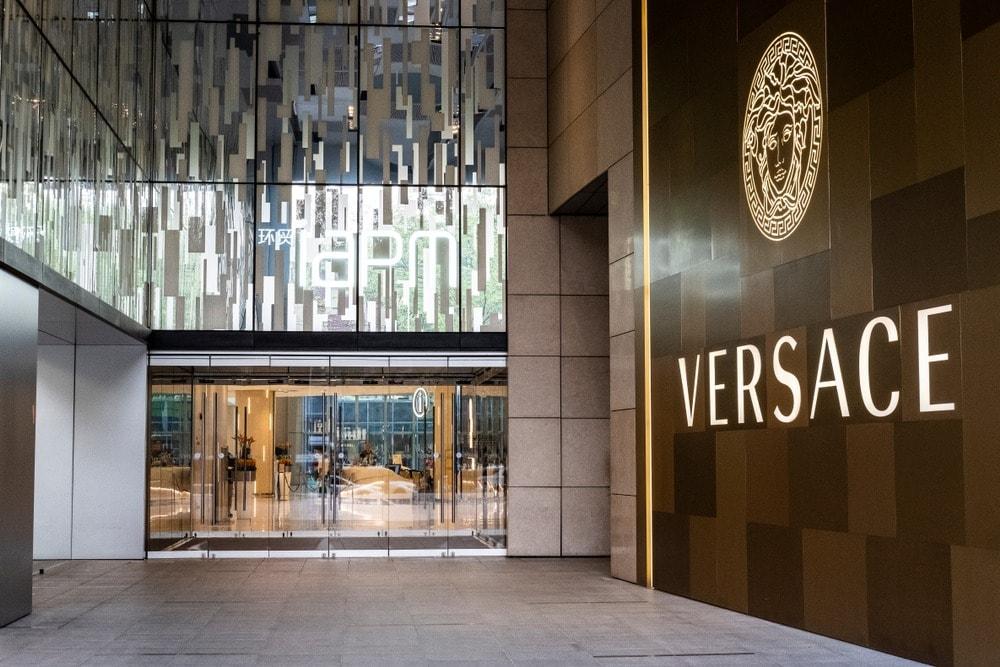 Versace store in Shanghai
