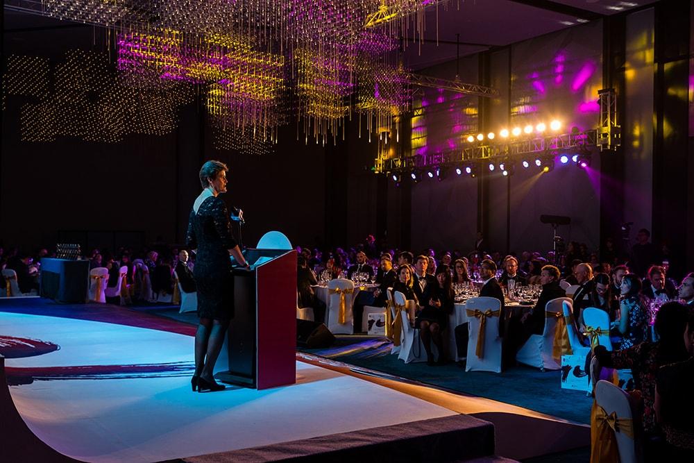 Ambassador Woodward at the 2018 British Business Awards
