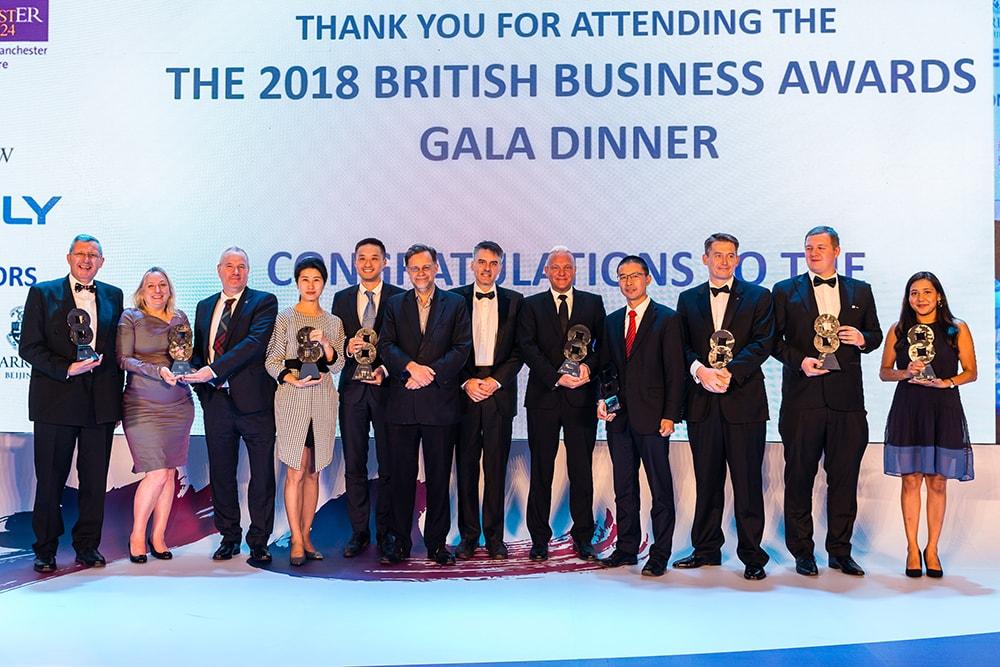Winners of the 2018 BBAs