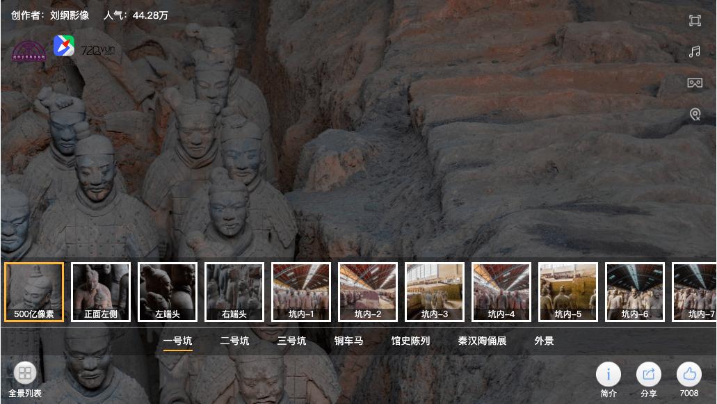 Terracotta Warriors digital
