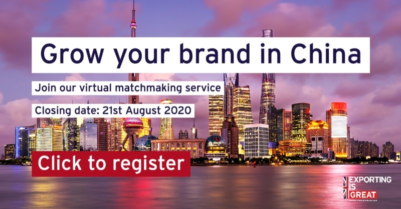Grow your brand in China